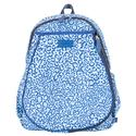 Women`s Game On Tennis Backpack 217_BLUE_LEOPARD