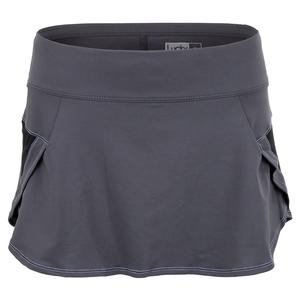 Women`s Renew Pulse Tennis Skort Charcoal