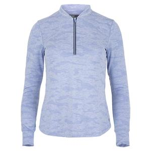 Women`s Weekend Loing Sleeve Tennis Top Sky Blue