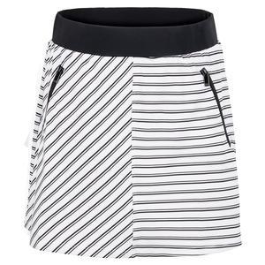 Women`s Nadusha 16 Inch Tennis Skirt Infinity Stripe