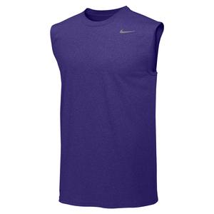 Men`s Team Legend Training Top Court Purple and Cool Grey