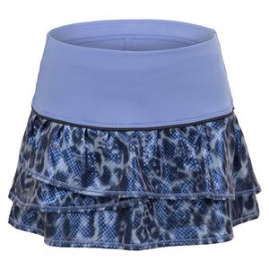 Girls` Prowl Pleat Tier Tennis Skort Glacier