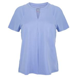 Women`s Viper Tie Back Short Sleeve Tennis Top Glacier