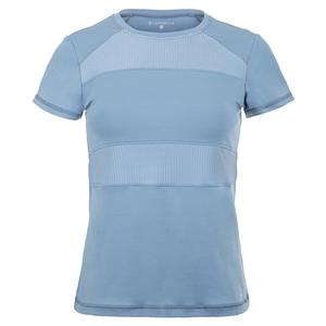 Women`s Short Sleeve Tennis Top Patagonia and Moonshine