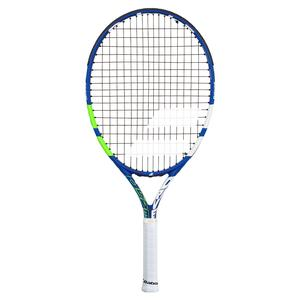 Drive Junior 23 Prestrung Tennis Racquet Blue and Green