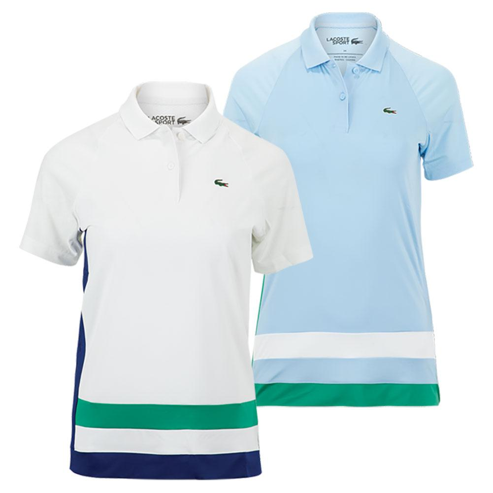 Women's Short Sleeve Tennis Polo