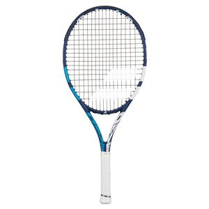 Drive Junior 25 Prestrung Tennis Racquet Blue and White