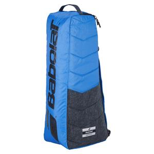 Racquet Holder X 6 Evo Tennis Bag Blue and Grey