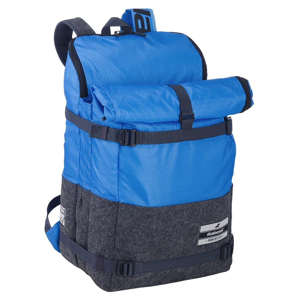 3 + 3 Evo Tennis Backpack Blue And Grey