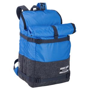 3+3 Evo Tennis Backpack Blue and Grey
