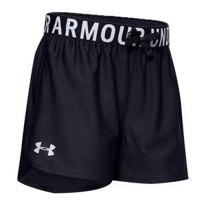 Girls` UA Play Up Solid Shorts