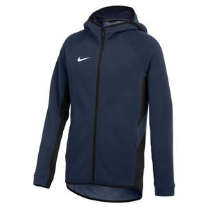 Boys` Dri-FIT Showtime Full-Zip Sports Hoodie