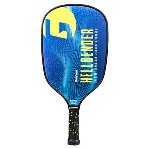 Hellbender Pickleball Paddle Blue and Chartreuse
