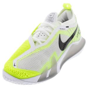 Men`s React Vapor NXT Tennis Shoes Grey Fog and Black