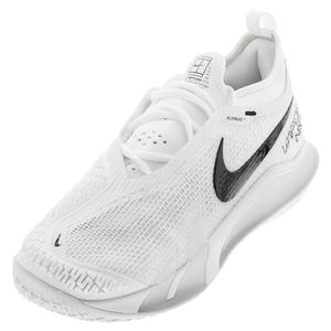 Men`s React Vapor NXT Tennis Shoes White and Black