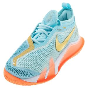 Women`s React Vapor NXT Tennis Shoes Copa and Metallic Gold