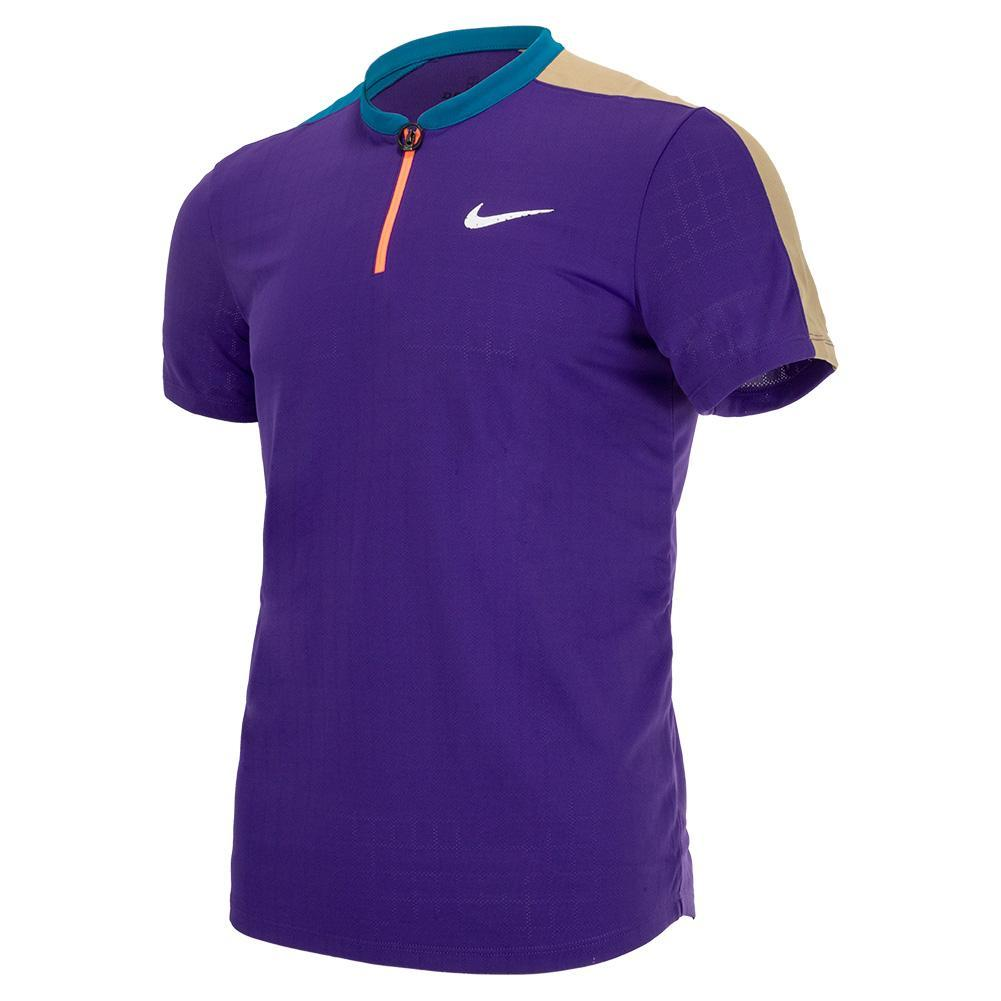 Men's Melbourne Team Court Breathe Slam Tennis Polo