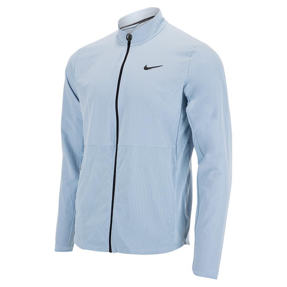 Men's Court Hyperadapt Advantage Packable Tennis Jacket Light Armory Blue