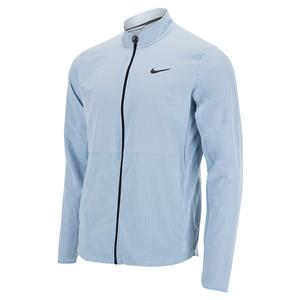 Men`s Court HyperAdapt Advantage Packable Tennis Jacket Light Armory Blue