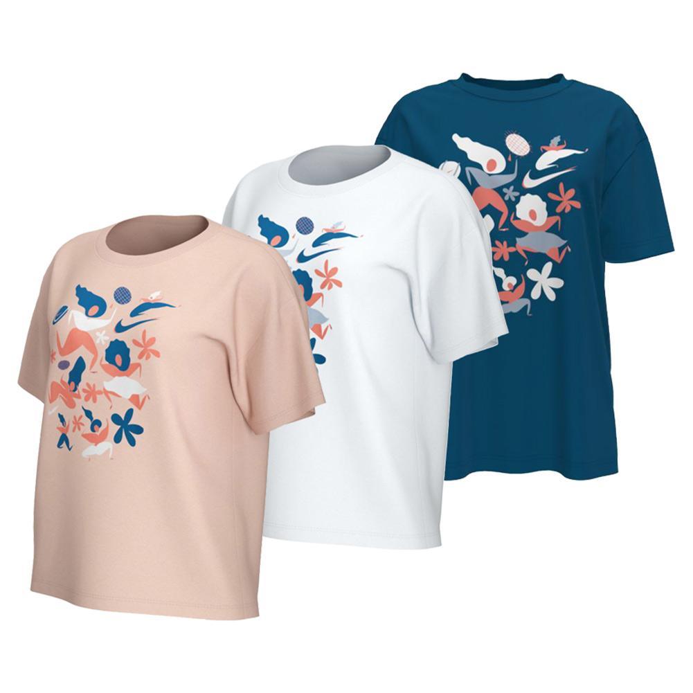 Women's Court Tennis T- Shirt