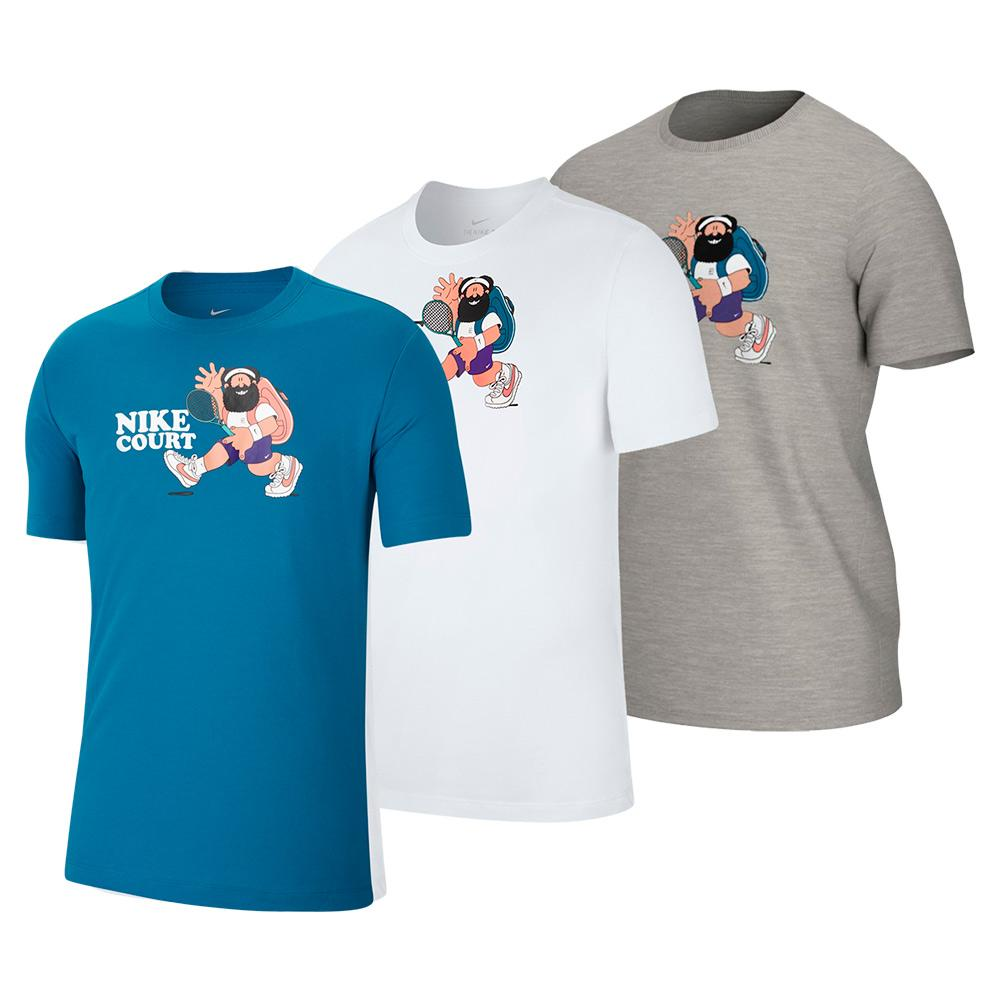 Men's Court Slam Tennis T- Shirt