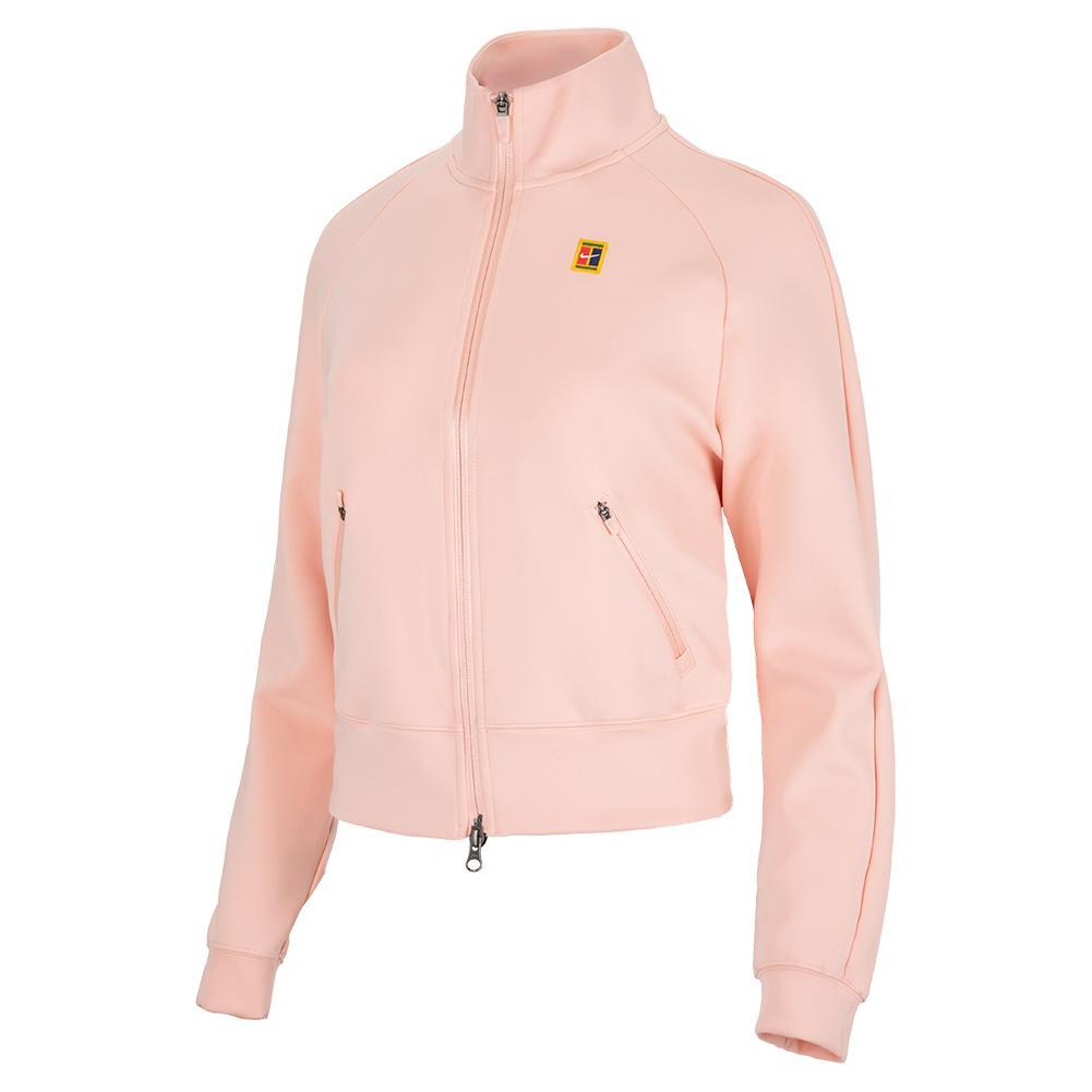 Women's Court Full- Zip Tennis Jacket Arctic Orange