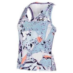 Women`s Court Victory Printed Tennis Tank