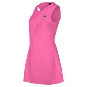 Women`s Maria London Court Tennis Dress Vivid Pink and Black