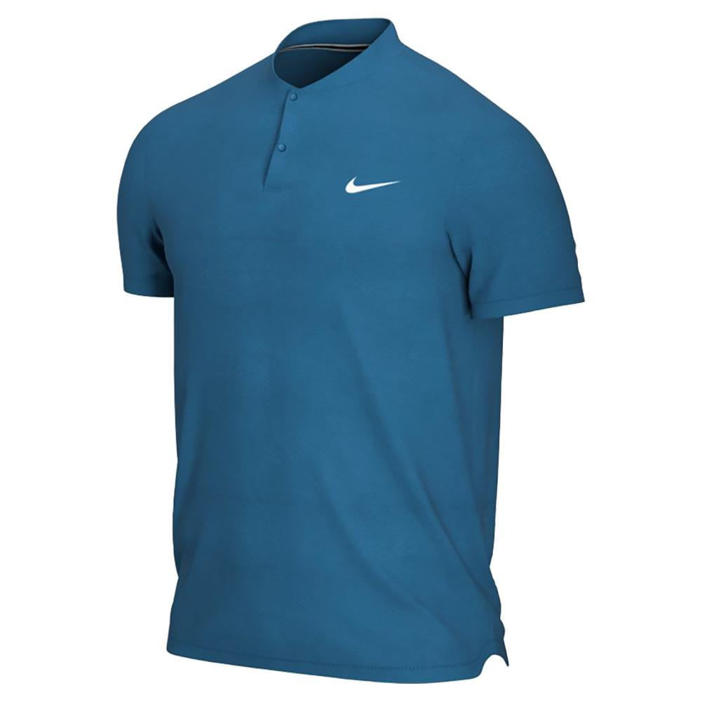 Men's Court Dri- Fit Blade Tennis Polo