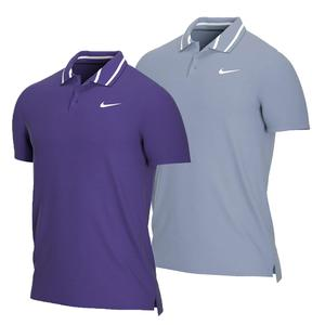 Men`s Court Dri-FIT Pique Victory Tennis Polo