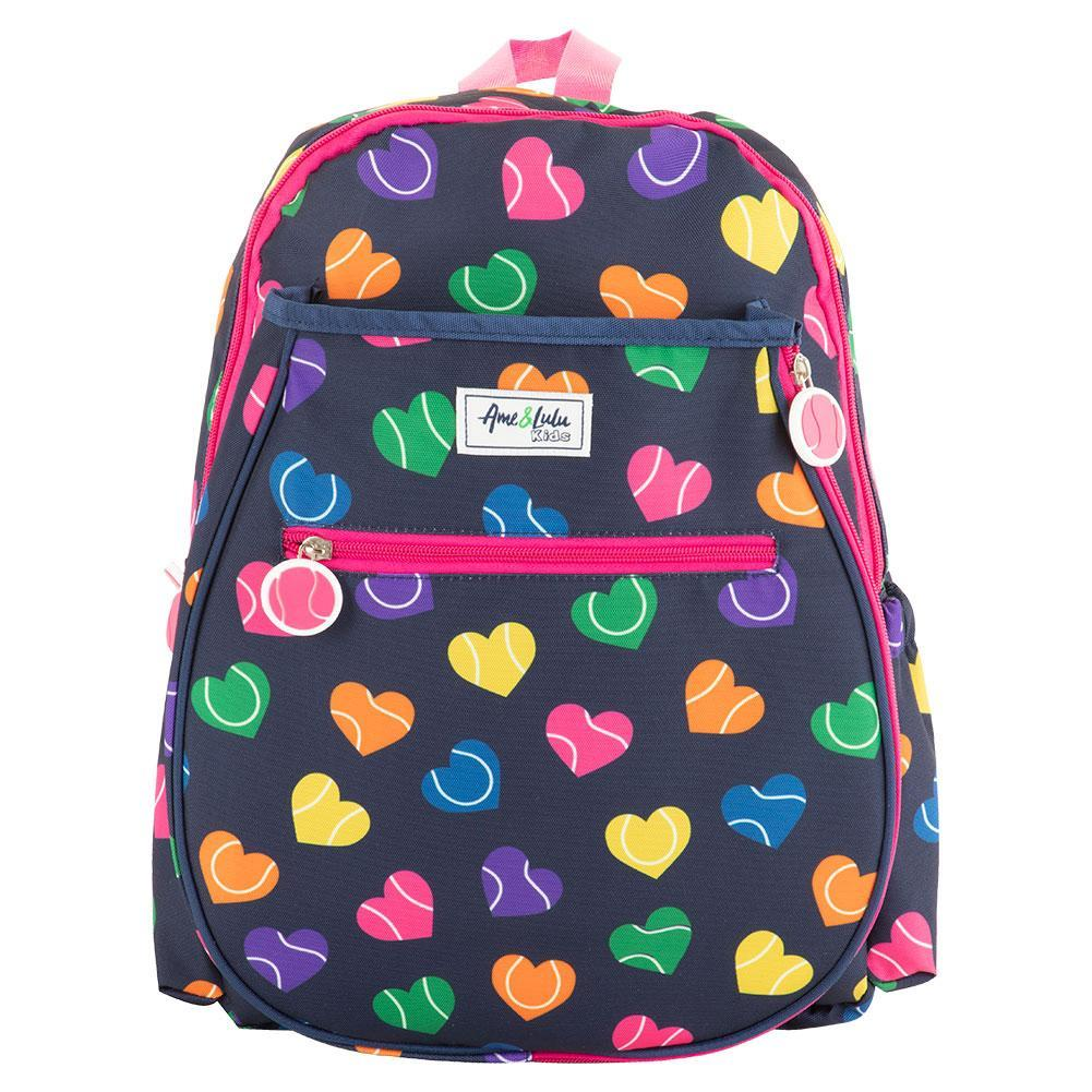 Tennisexpress Juniors` Big Love Tennis Backpack Rainbow Serve
