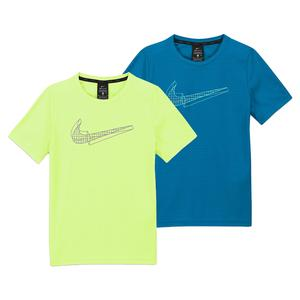 Boys` Graphic Short-Sleeve Training Top