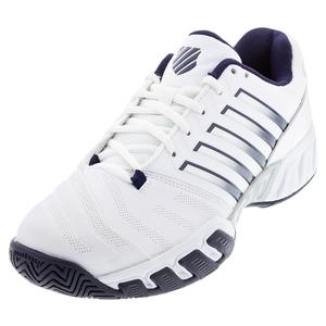 Men`s Bigshot Light 4 Tennis Shoes White and Peacoat