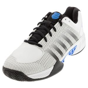 Men`s Express Light Pickleball Shoes Barely Blue and White