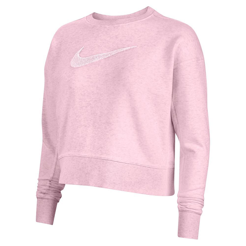 Women's Dri- Fit Get Fit Training Sweatshirt Pink Foam