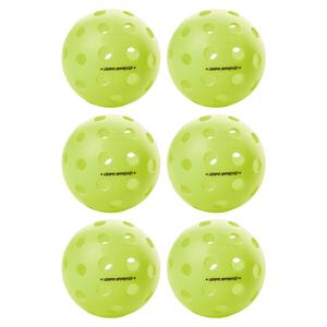 Fuse G2 Outdoor Pickleballs Neon 6-Pack