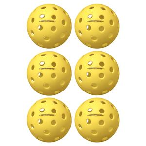 Fuse G2 Outdoor Pickleballs Yellow 6-Pack