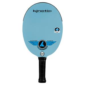 Ovation Flight Pickleball Paddle White and Blue