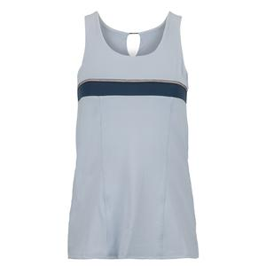 Women`s Uprise Bungee Tennis Tank Haze