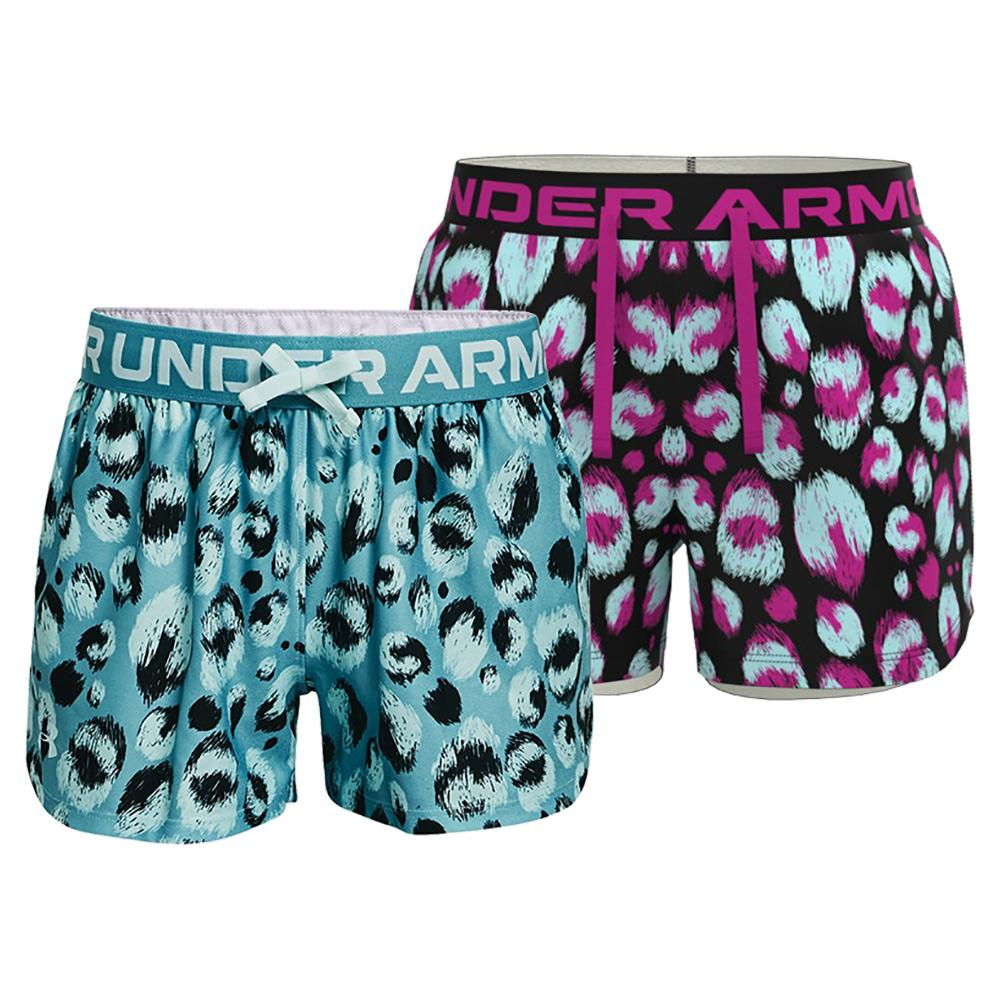 Girls ` Ua Play Up Printed Shorts