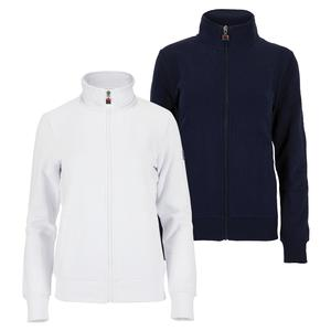 Women`s Match Fleece Full Zip Tennis Jacket