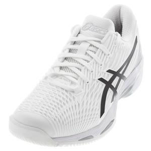 Men`s Solution Speed FF 2 Tennis Shoes White and Black