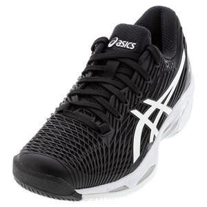 Men`s Solution Speed FF 2 Tennis Shoes Black and White