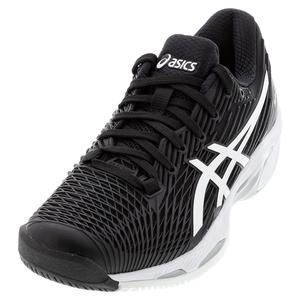 Women`s Solution Speed FF 2 Tennis Shoes Black and White