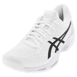 Women`s Solution Speed FF 2 Tennis Shoes White and Black
