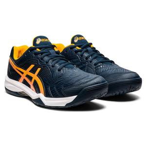 Men`s GEL-Dedicate 6 Tennis Shoes French Blue and Amber