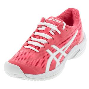 Women`s Court Speed FF Tennis Shoes Pink Cameo and White