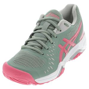 Women`s GEL-Challenger 12 Tennis Shoes Slate Grey and Pink Cameo