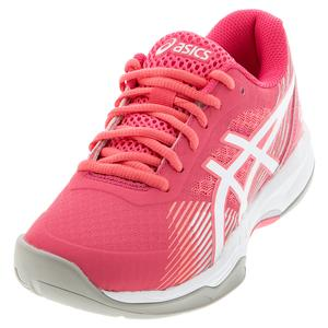 Women`s GEL-Game 8 Tennis Shoes Cameo Pink and White