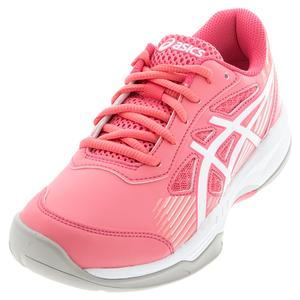 Juniors` GEL-Game 8 GS Tennis Shoes Pink Cameo and White